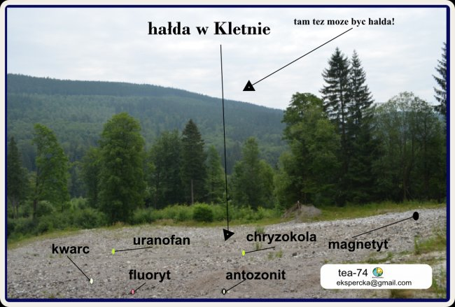 Kletno - Mekka poszukiwaczy minerałów